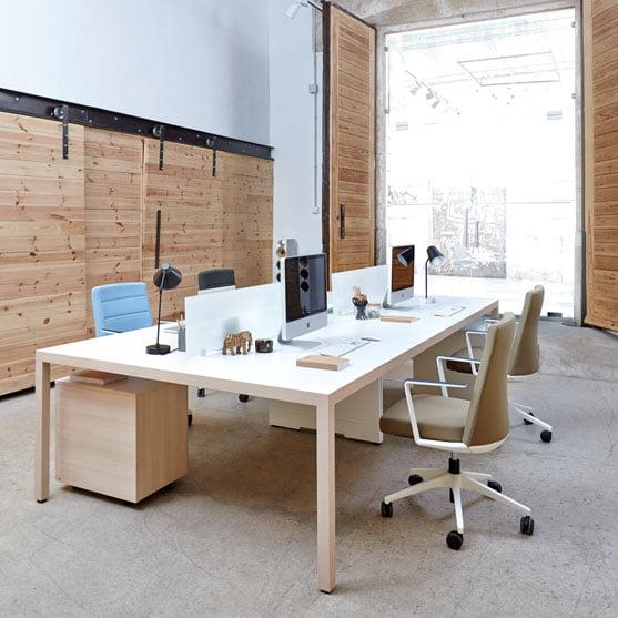 Actiy prima Rectangular Bench desks