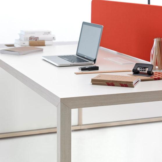 Prisma Bench Desk detail