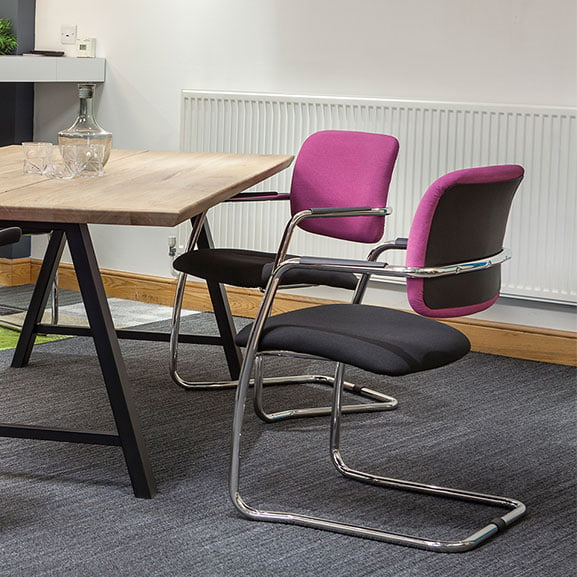 Breeze Cantilever Frame Office Meeting Chair