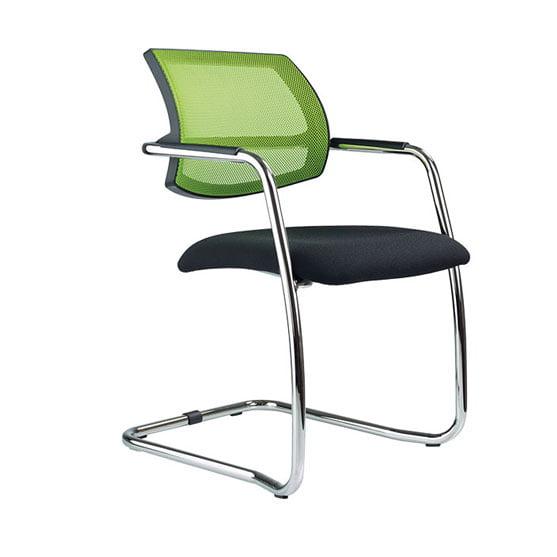 Air Breeze Mesh back cantilever chair