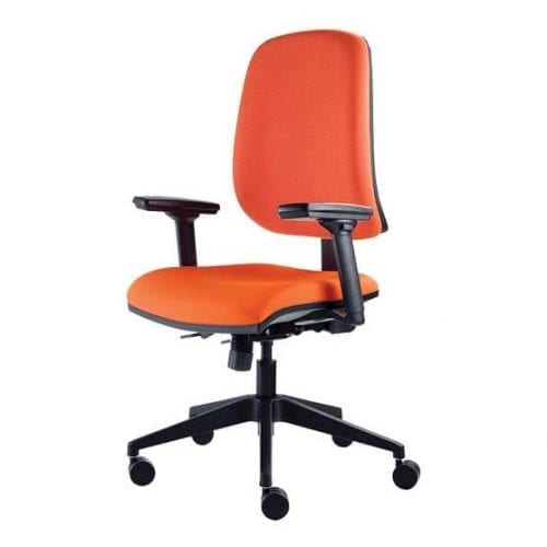 Thunder Computer Chair in Orange