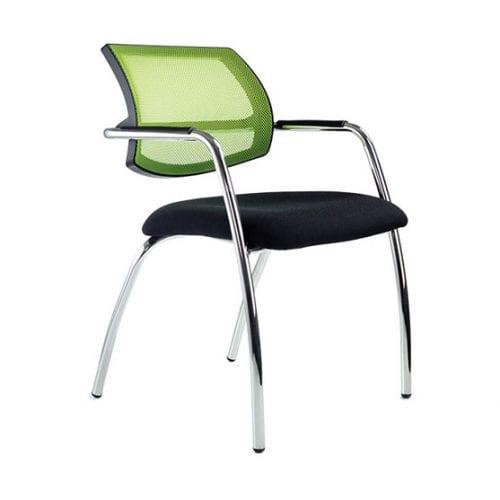 Breeze 4 Leg Meeting Chair