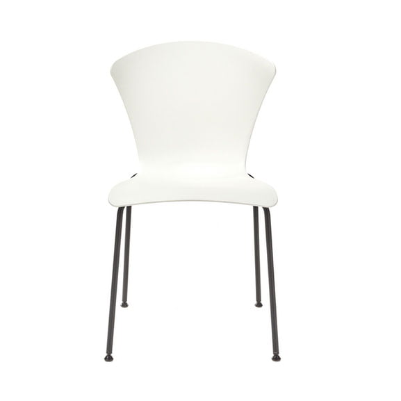 Connection Glaze Breakout Chair in White