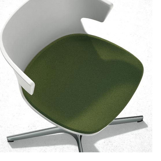 Cove Meeting Chair Large Seat Pad
