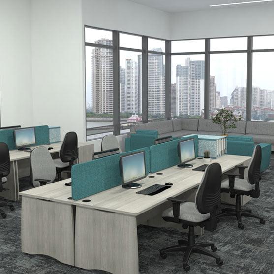 EX 10 Rectangular Desks