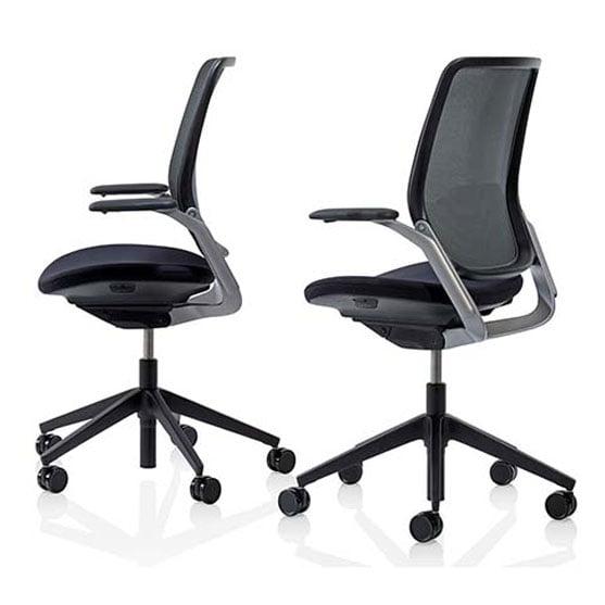 Eva Work Office Chair in Black