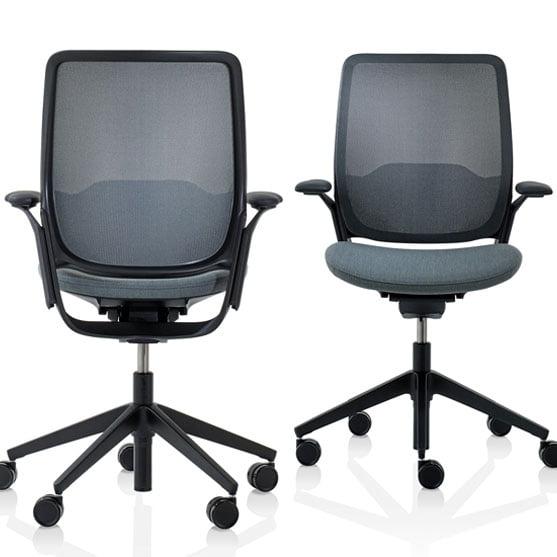 Eva Work Chair in black