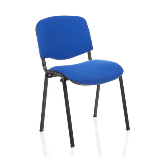 BT Dynamic ISO 4 Leg Office Meeting Chair Blue