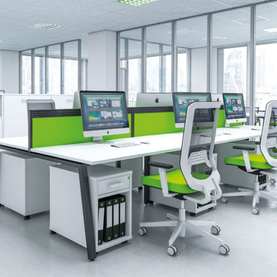 Bench Desks by Imperial