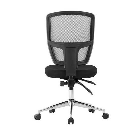 Nexus Mesh Chair in Black no arms