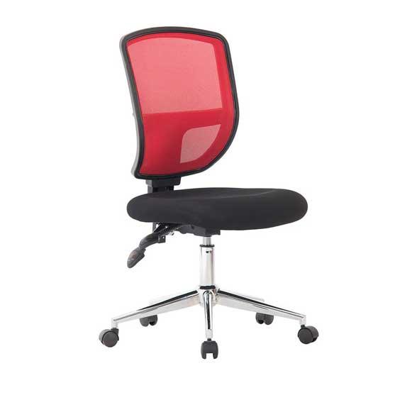 Designer Nexus Mesh Chair in Red