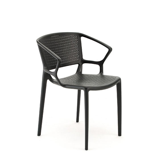 Pledge Daisy Breakout Office Chair Anthracite with arms