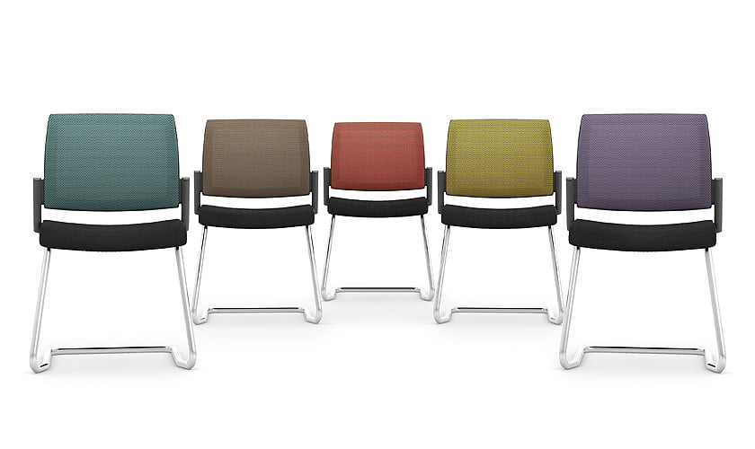 Kind mesh cantilever frame office meeting chair