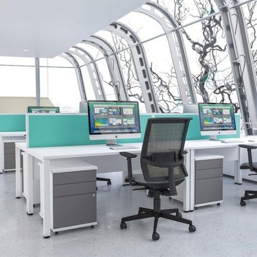 Pure Straight Desk