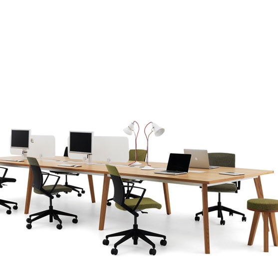 Martin Bench Desks from Verco
