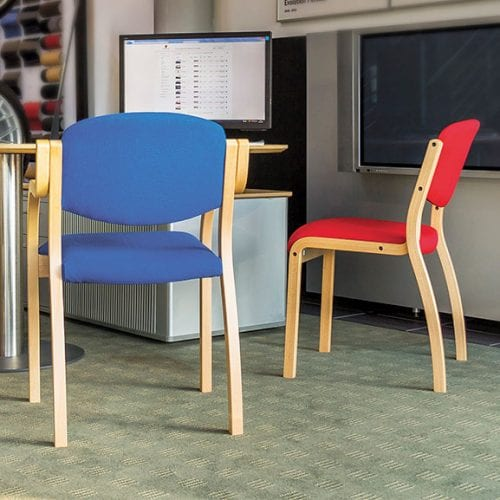 Ozone wood frame office meeting chair