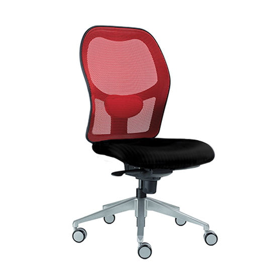 Alize Mesh Office Chair in Red