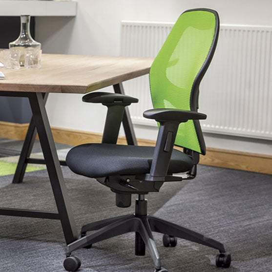Alize Mesh Office Chair in an office