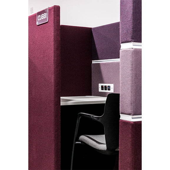 Cubbi Acoustic Booth Table