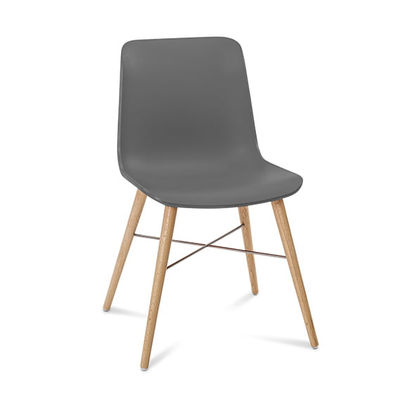 Connection Seating Laurel Breakout Chair Anthracite