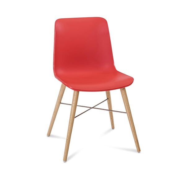 Connection Seating Laurel Breakout Chair Scarlett Red