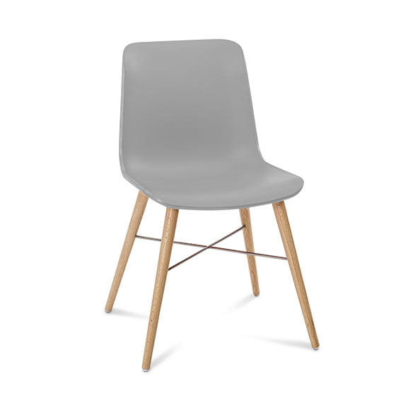Connection Seating Laurel Breakout Chair Sliver
