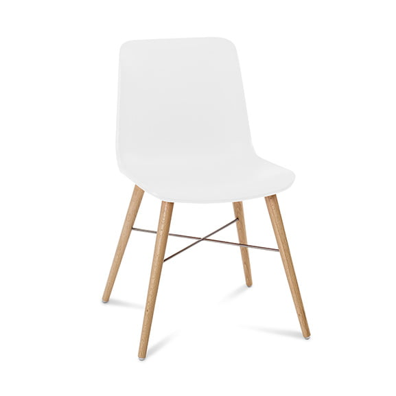 Connection Seating Laurel Breakout Chair White