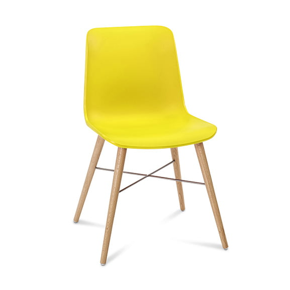 Connection Seating Laurel Breakout Chair Yellow