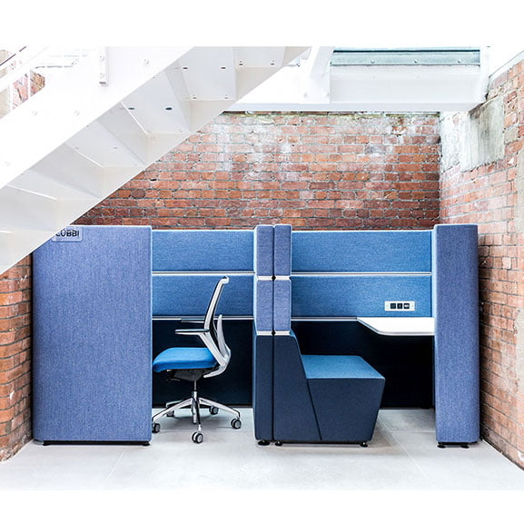 Cubbi Double Acoustic Booth