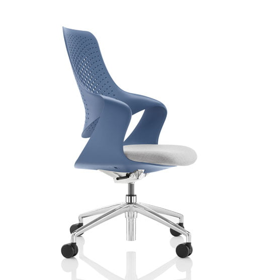 Coza Mesh Chair in blue
