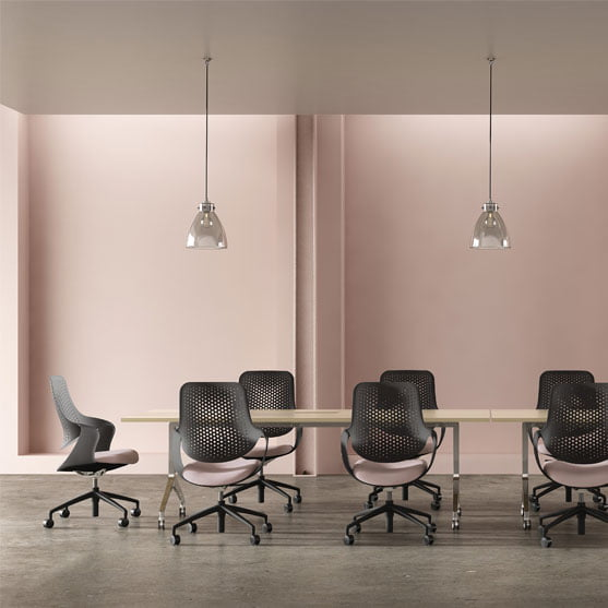 Coza Mesh Chair in a meeting room