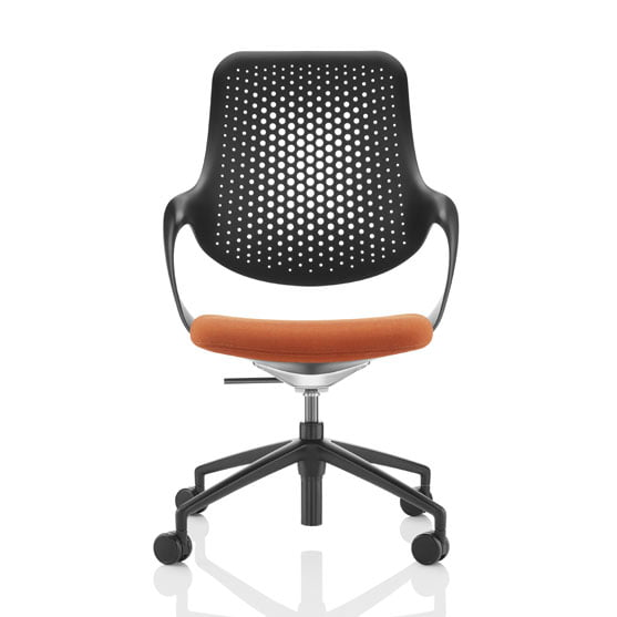 Coza mesh office chair black frame