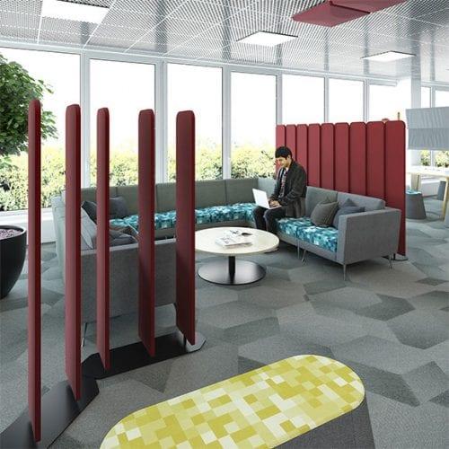 Dams Key Rotating Acoustic Floor Screens