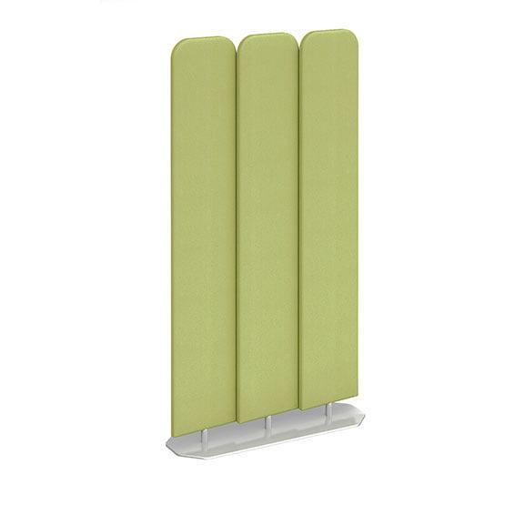 Green Acoustic Floor Standing Screens in Green