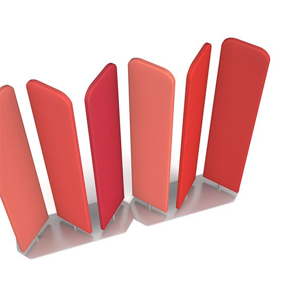 Salmon and Red Rotating Acoustic Floor Screens Dams