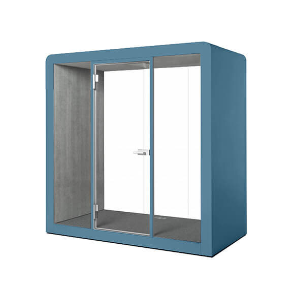 Silen 4 person pod glass doors