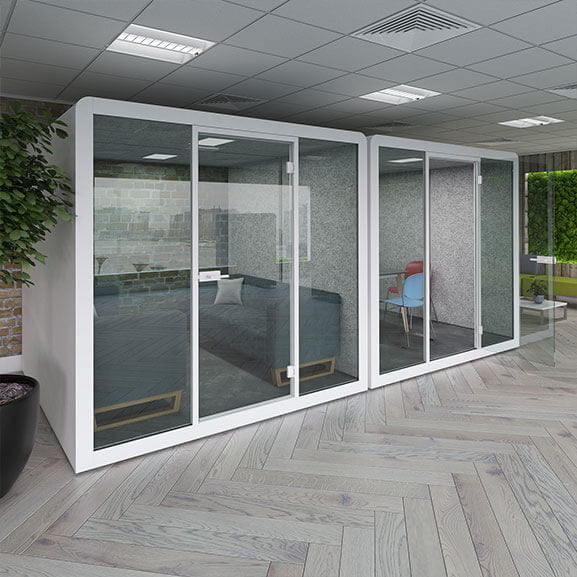 silen 6 to 8 person white glass doors dams