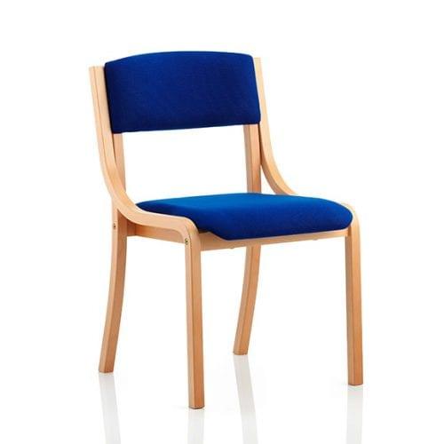 Madrid wood frame office meeting chair