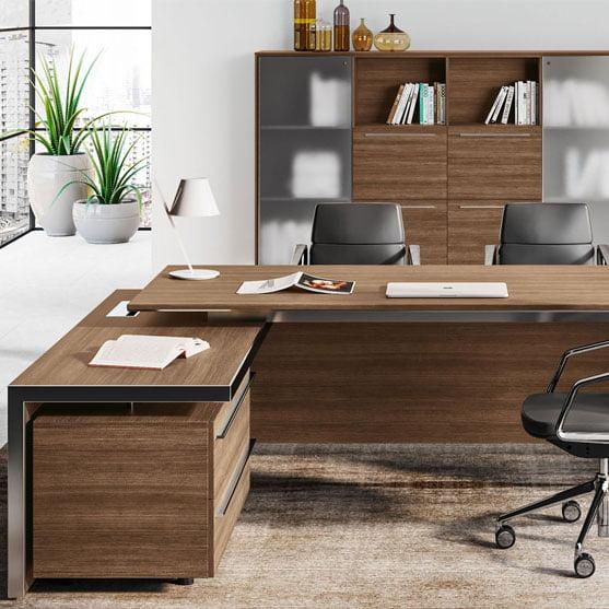 E.O.S Executive Desk with Details