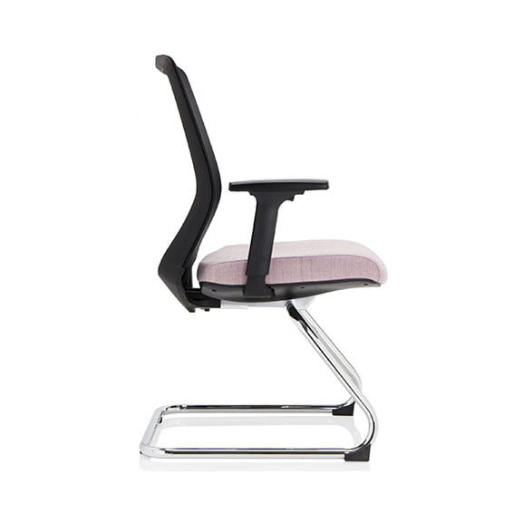 vida mesh back cantilever frame office meeting chair