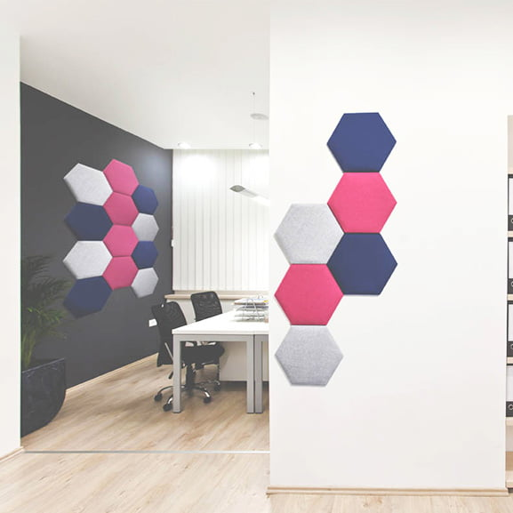 era eden wall mounted acoustic panel in situe