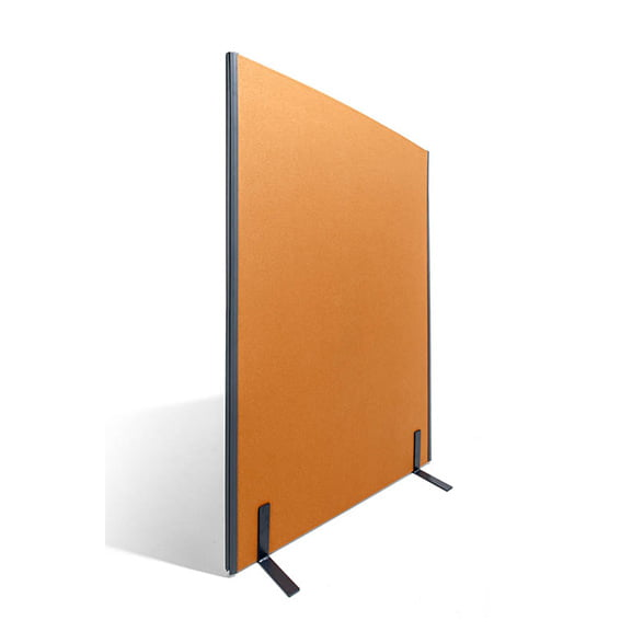 One Series Floor Standing Screen in Orange Era
