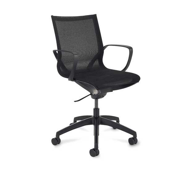 Gravity Mesh Chair in Black