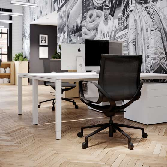 Gravity Mesh Chair in an office environment