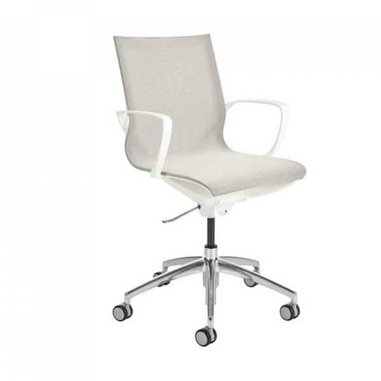 Gravity Mesh Chair in White