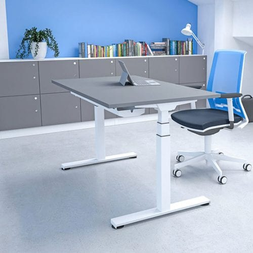 Imperial Single Height Adjustable Desk