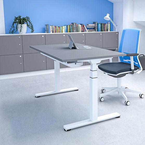 Imperial Single Height Adjustable Desk