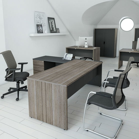 I-Executive-Shown-Straight-Desk-and-Desk-with-Storage