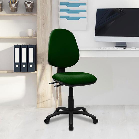 Java Operator Chair in green