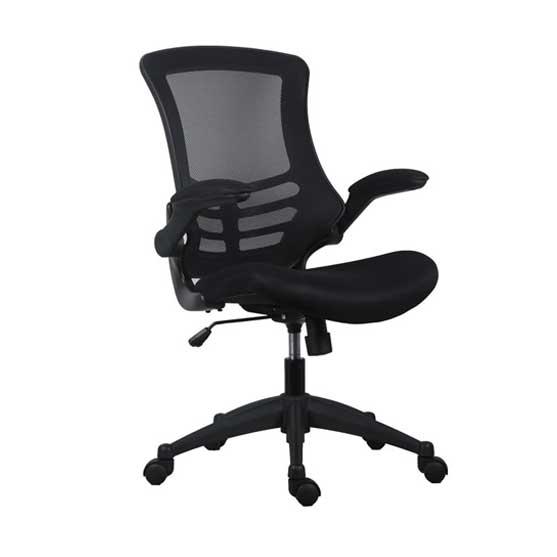 Luna Mesh Chair in Black